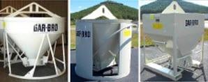 concrete placing equipment