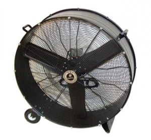 industrial floor fan climate control
