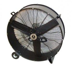 climate control fan