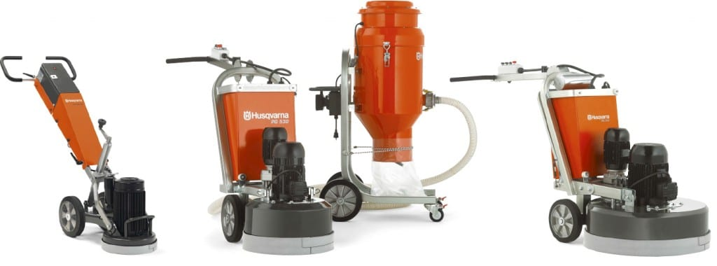 Husqvarna Concrete Grinding Equipment Rental