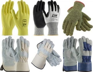construction safety hand protection