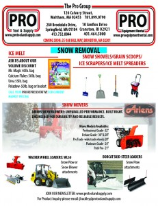 snow removal 2015
