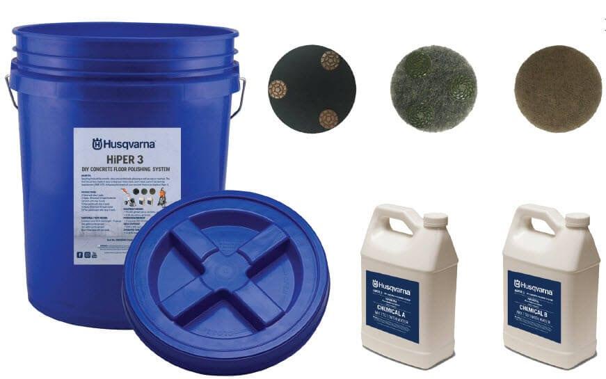 husqvarna hiper 3 polish bucket kit