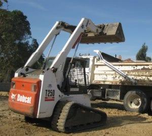 track loader bobcat t250